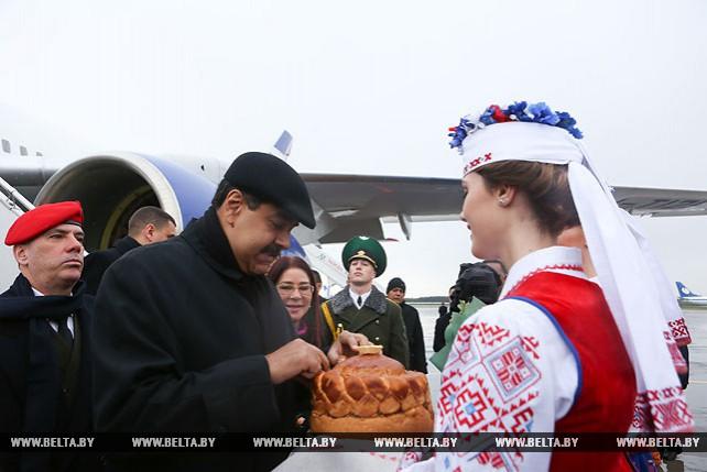 Мадуро прибыл с официальным визитом в Беларусь