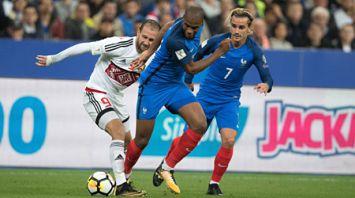 Футболисты сборной Беларуси проиграли французам в заключительном матче квалификации ЧМ-2018