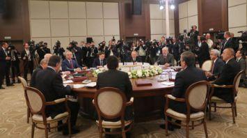 Лукашенко принимает участие в заседании Совета глав государств СНГ в Сочи