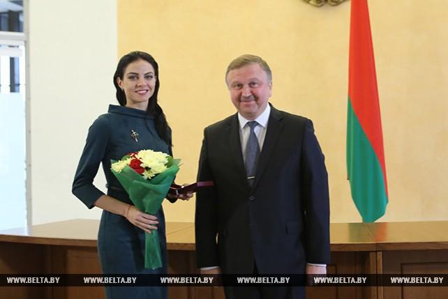 Кобяков вручил государственные награды представителям различных сфер