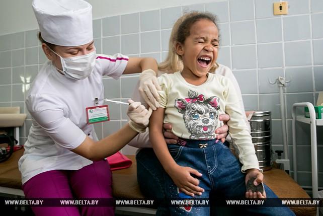 В Брестской области до 1 декабря планируется привить от гриппа более 500 тыс. человек
