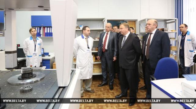 Кобяков посетил Белорусский государственный институт метрологии