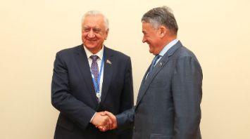 Мясникович встретился с вице-спикером Совета Федерации Федерального собрания России
