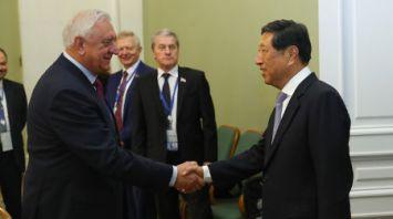 Мясникович встретился с заместителем Председателя Постоянного комитета Всекитайского собрания народных представителей КНР