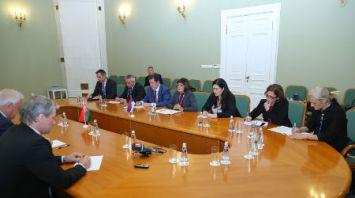 Мясникович встретился с председателем Народной скупщины Республики Сербии