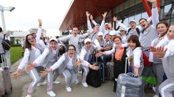 Белорусская делегация приехала на всемирный фестиваль в Сочи с большим багажом предложений