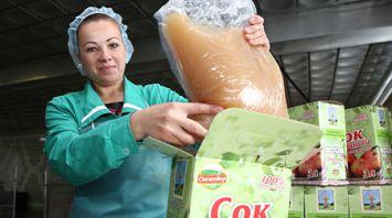 200 т яблочного сока произведут в СПК имени В.И.Кремко