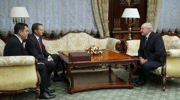Александр Лукашенко встретился с директором Службы внешней разведки России Сергеем Нарышкиным