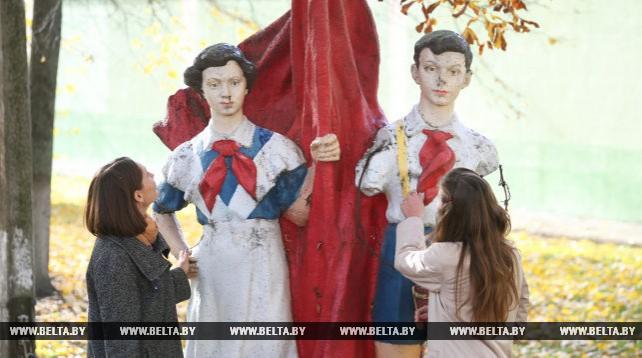 Музей скульптур советских времен создан в гомельском колледже