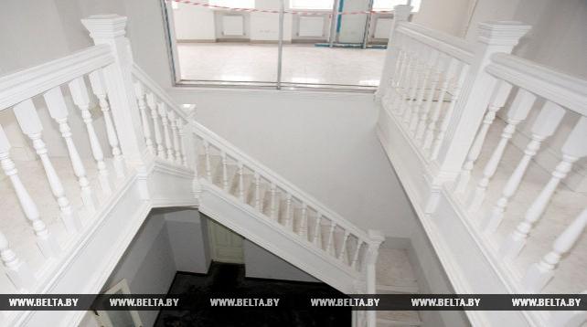 Завершается реконструкция здания музея истории Витебского народного художественного училища