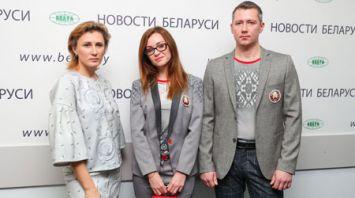 Парадно-гражданскую форму белорусских олимпийцев презентовали журналистам в пресс-центре БЕЛТА