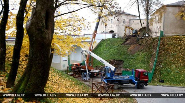В Гродно началась реставрация Старого замка