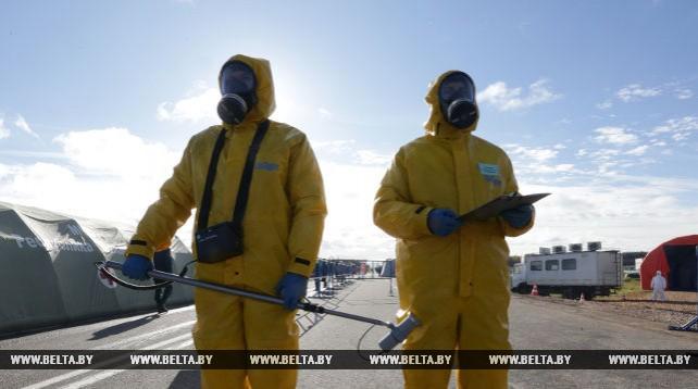 Учение по реагированию на радиационные аварии завершилось в Беларуси