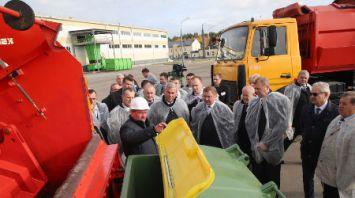 Участники семинара по совершенствованию системы ЖКХ посетили мусороперерабатывающий сортировочный завод