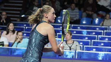 Белоруска Александра Саснович не смогла выйти в полуфинал Кубка Кремля