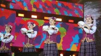 Ансамбль из Беларуси выступил на фестивале национальных культур в Сочи