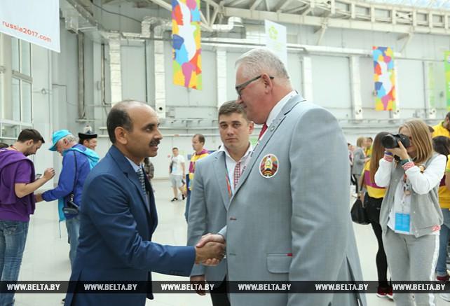 Игорь Карпенко провел переговоры с заместителем министра по делам молодежи и спорта Индии Судхансу Кумаром Пандеем