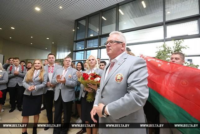 Делегация Беларуси вернулась со Всемирного фестиваля молодежи в Сочи