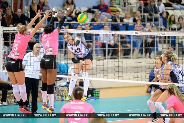 """Волейболистки """"Минчанки"""" победили во втором отборочном раунде Лиги чемпионов"""