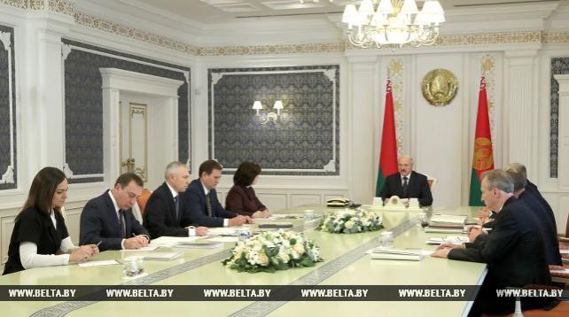 Лукашенко провел совещание с руководством Администрации Президента