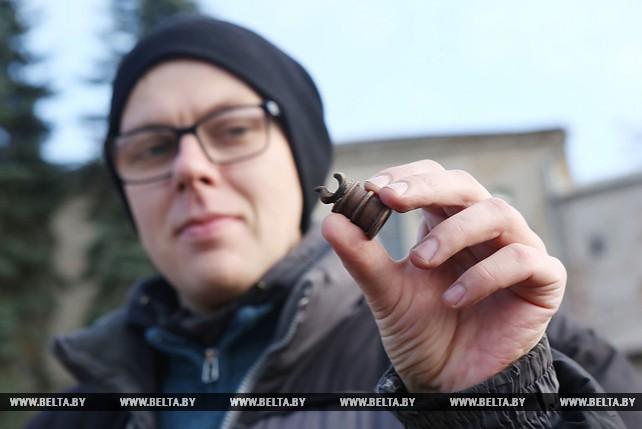 В Старом замке в Гродно археологи обнаружили шахматную фигуру времен Витовта