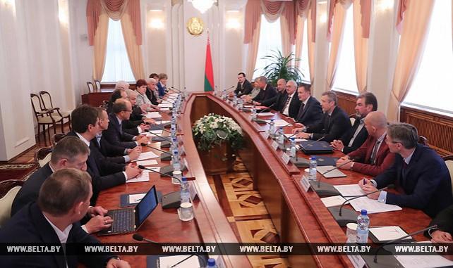 Заседание Совета по развитию предпринимательства прошло в Минске