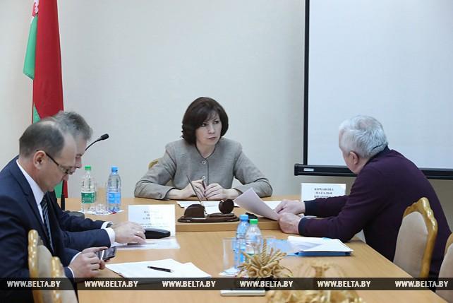 Кочанова провела прием граждан в администрации Первомайского района