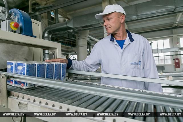 На Жабинковском сахарном заводе в сутки производится около 1150 т сахара