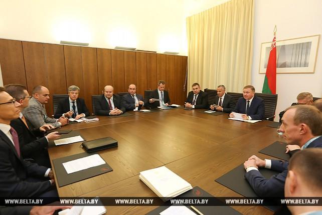 Кобяков встретился с вице-президентом Европейского инвестиционного банка
