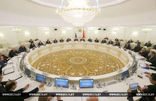 Заседание объединенной коллегии генпрокуратур Беларуси и России в Минске
