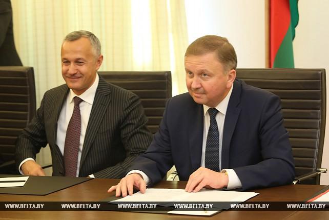 Кобяков встретился с руководителем бельгийской компании AOI NV