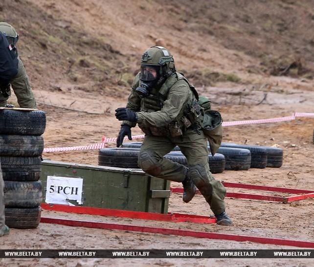Соревнования среди подразделений спецназначения прошли под Минском