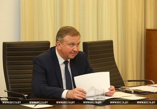 Кобяков встретился с главой компании FIB Belgium S.A.