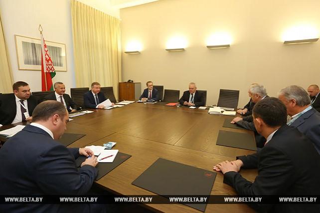 Кобяков встретился с руководством компании GIP Management
