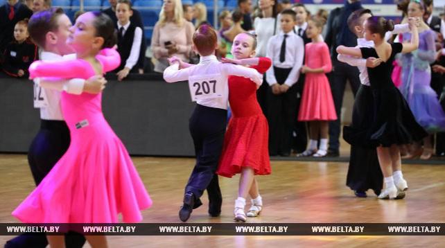 В Минске состоялся международный турнир по танцевальному спорту WR Dance Cup