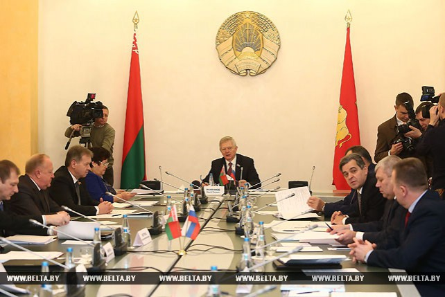 Союзные парламентарии в Гродно обсуждают формирование единого миграционного пространства