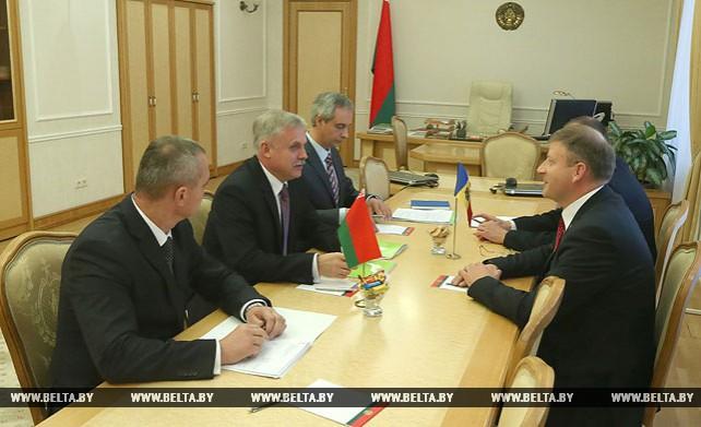 Зась встретился с секретарем Высшего совета безопасности Молдовы