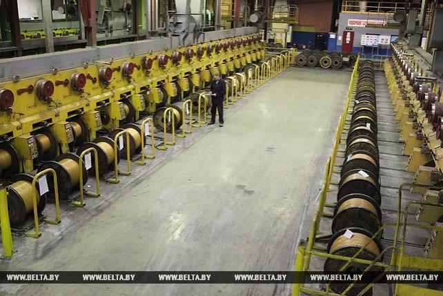 На 7% увеличено производство металлокорда на БМЗ в нынешнем году