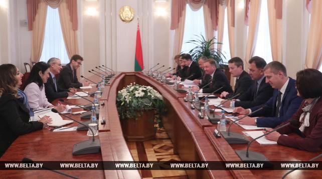 Андрей Кобяков встретился с делегацией ВТО