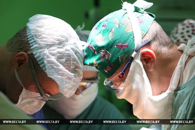 Пятисотую операцию по пересадке печени провели в РНПЦ трансплантации органов и тканей