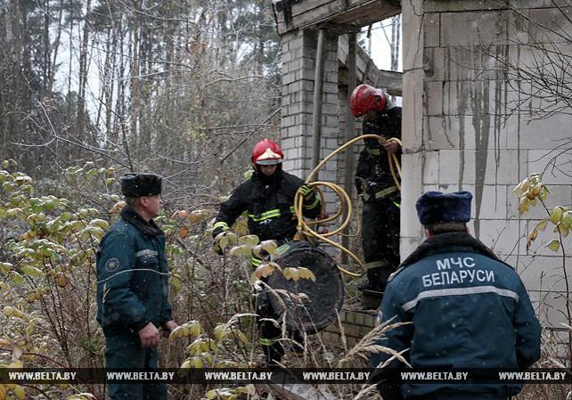 В Могилеве обрушилась кровля пустующего здания, есть пострадавшие