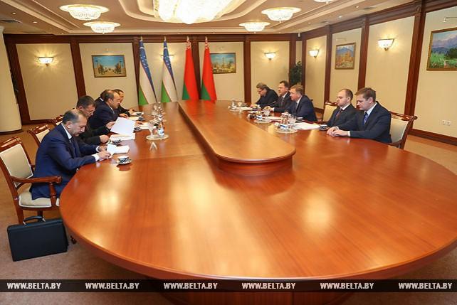 Кобяков и Арипов обсудили активизацию белорусско-узбекского взаимодействия