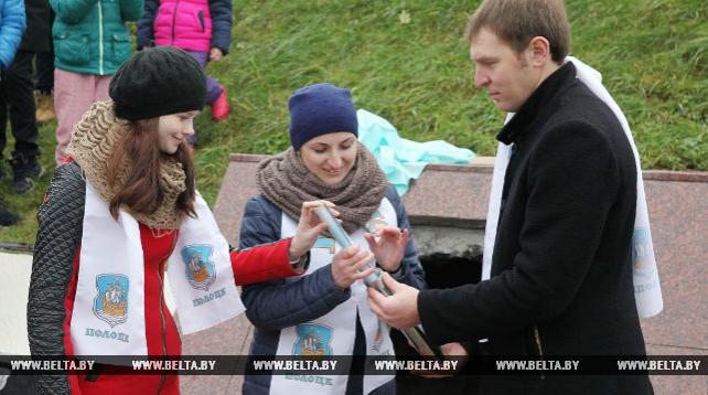 В Полоцке вскрыли капсулу с посланием потомкам и заложили новую