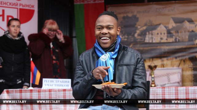 Международный турнир по поеданию драников прошел в Минске