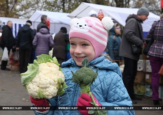 Сельскохозяйственная ярмарка прошла в Могилеве