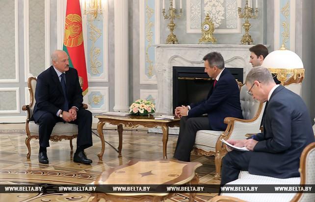 Лукашенко встретился с президентом Международного комитета Красного Креста Петером Маурером