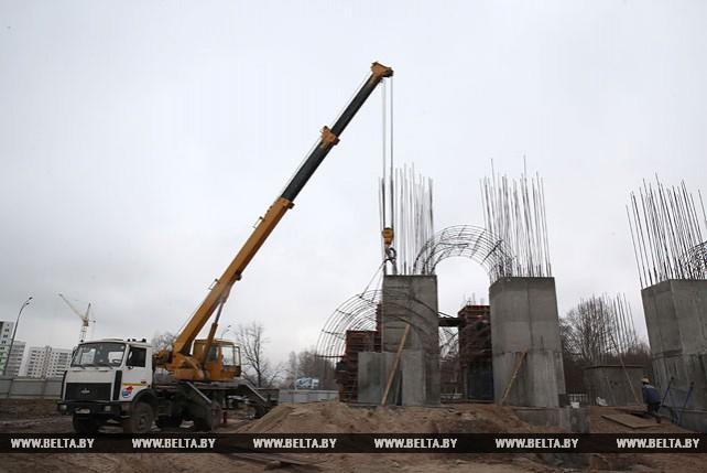 В Могилеве строится триумфальная арка