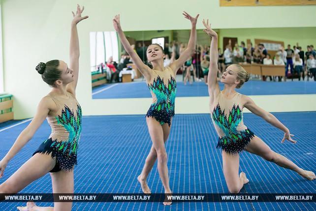 XXI Международный турнир по спортивной акробатике проходит в Бресте
