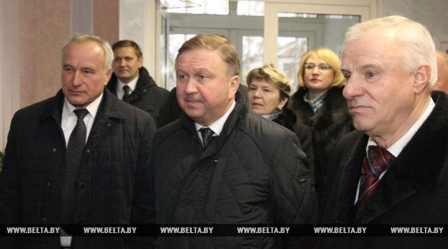 """Кобяков посетил предприятие """"Устье"""" в Оршанском районе"""