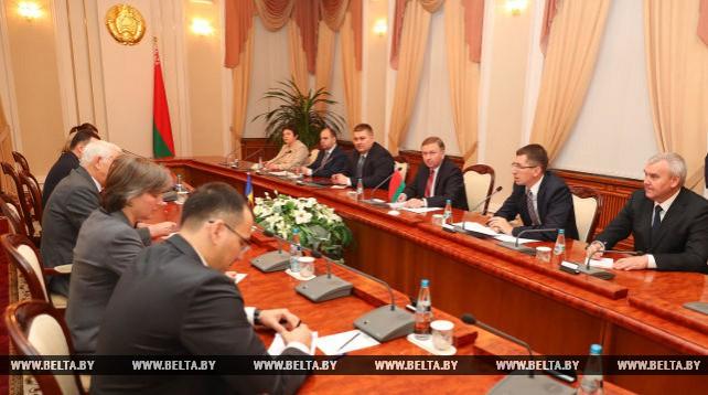 Кобяков встретился сминистром иностранных дел Румынии